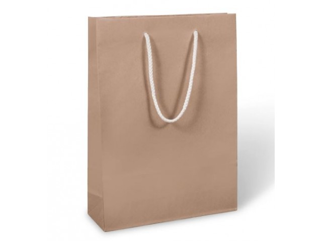 Kraft Paper Triple Wine & Bottle BAG with Rope Handle (Bundle/10)