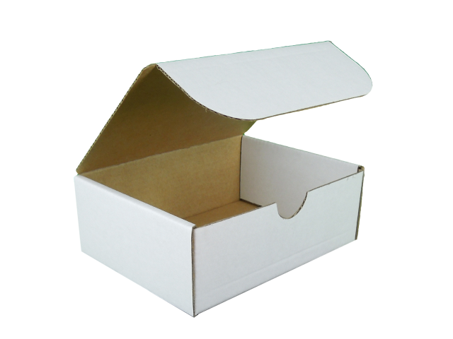 Rectangle Hinged Lid Cardboard Box - Size: 125x94x47