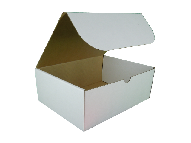 Rectangle Hinged Lid Cardboard Box - Size: 200x150x75