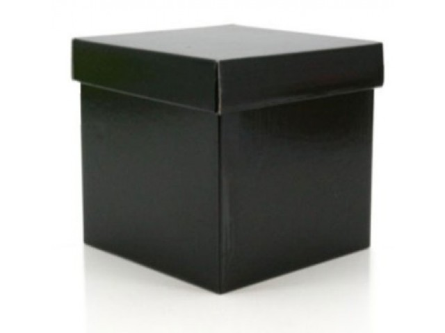 Gift Box & Lid (Gloss ) Black Pack/10