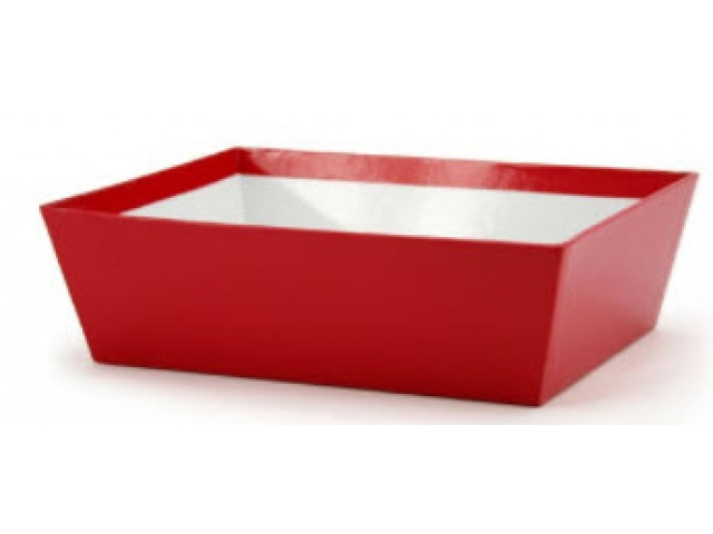 SMALL Gift Hamper Tray Red