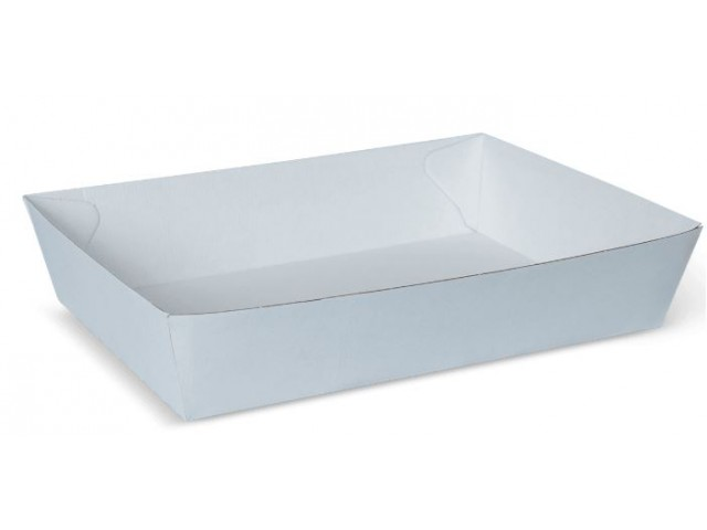 White No 5 Endura Food Tray (Hot/Cold) Carton/100