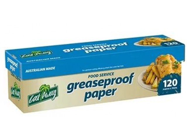 Foodservice Greaseproof Paper 300mmx120m In Dispenser