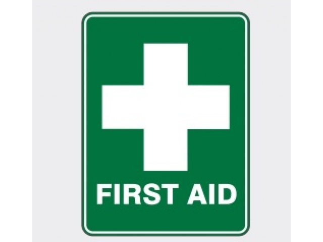 H&S Sign First Aid