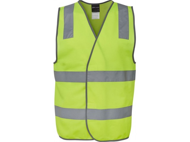 Hi Vis Safety Vest (Velcro Close) Day & Night - LIME
