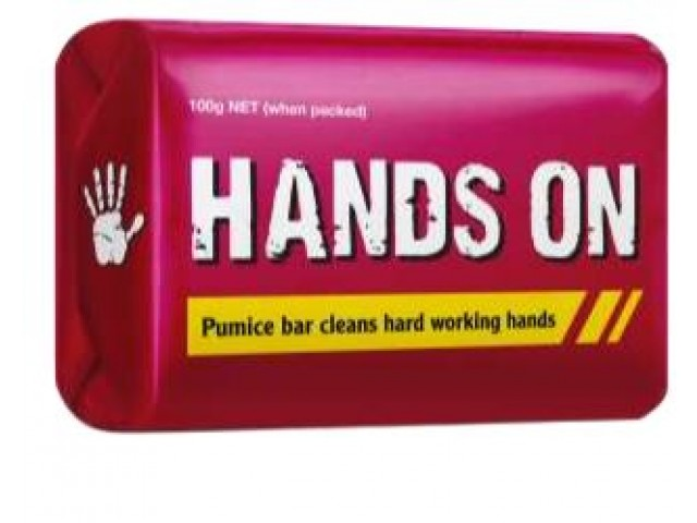 Hands on Pumice Soap 100gr Bar - Individually Wrapped