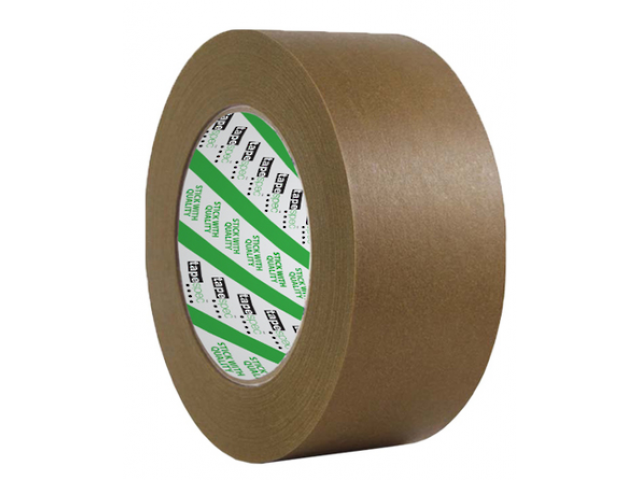 Kraft Flatback Paper Tape 24mmx50m (Brown) Roll