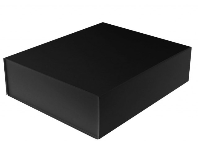 Magnetic Close Gift Box Small (Square) BLACK