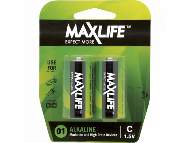 Battery C Max Life Alkaline