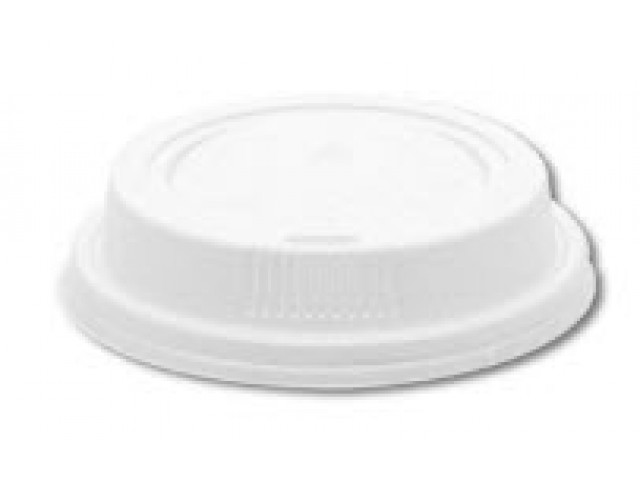 Secure Lid for 12/16oz PE Coffee Cups White