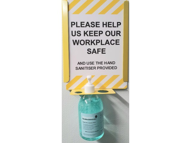 Wall Mounted Hand Sanitiser Unit (Takes Multiple Sizes)