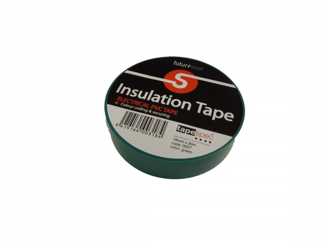 PVC Insulation Tape 0007 GREEN