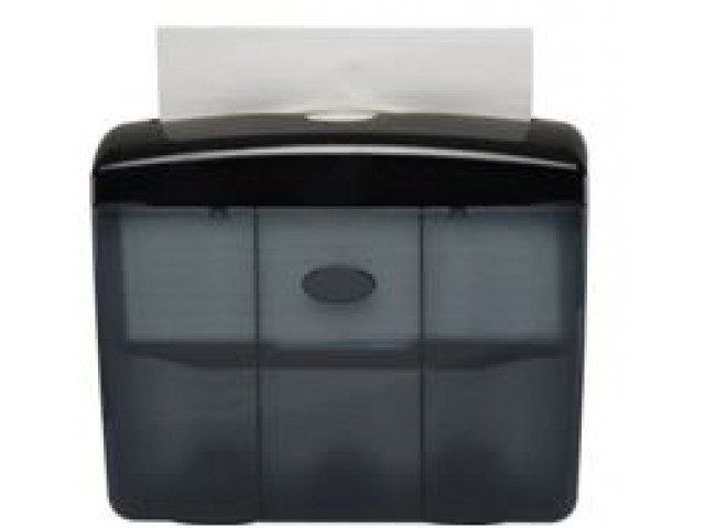 Table Top (Pop Up) Hand Towel Dispenser BLACK