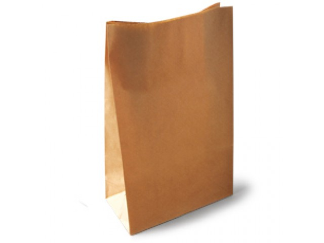 HD Block Bottom No 5 Paper Bag Pack/200
