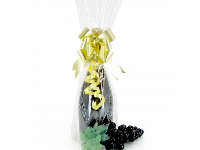 Cello Wine Bag CLEAR Pack/100