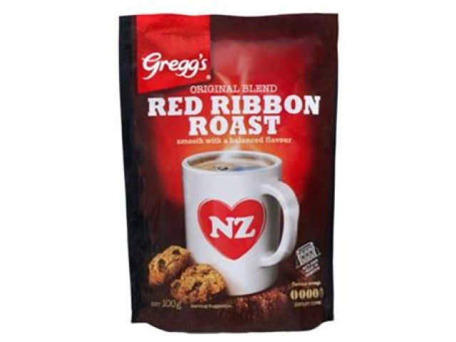Coffee Greggs Red Ribbon Roast 400gr Softpack