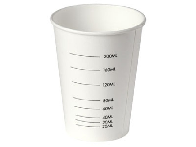 270ml Paper Graduated Measuring Cup