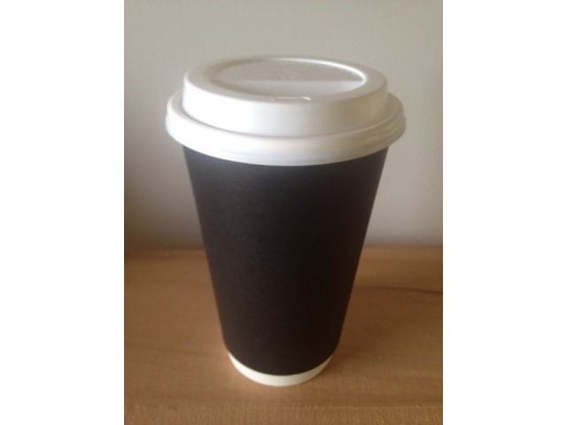 16oz Double Wall PE Coffee Cup