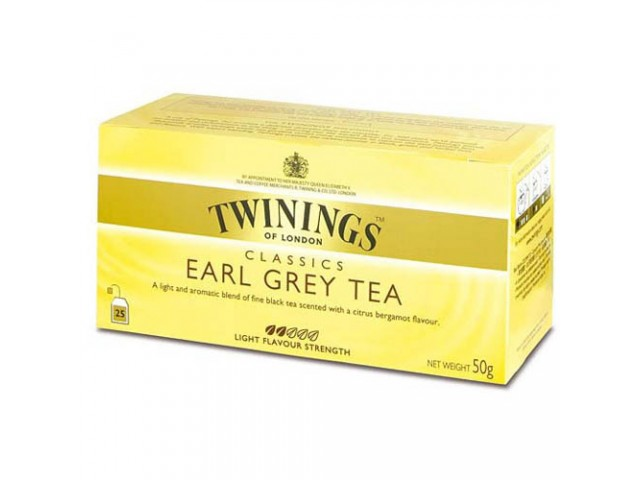 Tea Bags Earl Grey Twinings 0
