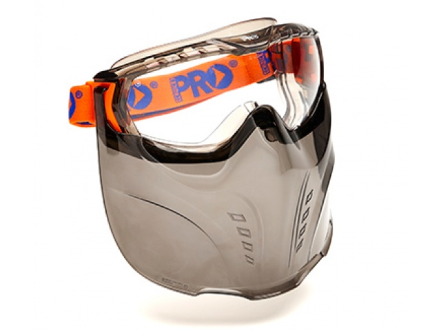Vadar Goggle & Face Guard Combination Clear Lens