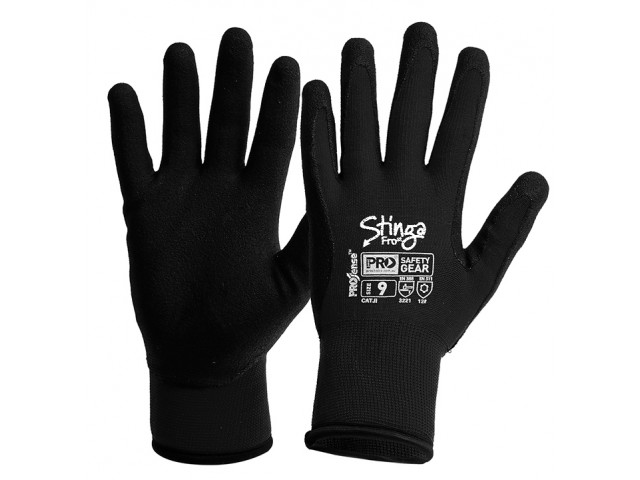 Stinga FROst Gloves - 'Winter' Thermal Lined (Pair) Size 8