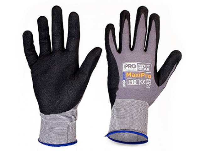 MaxiPro Glove Nitrile water-based PU Foam Coating