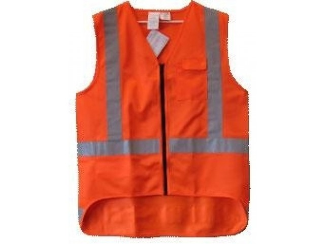 Vest Hi Viz TTMC Orange Small