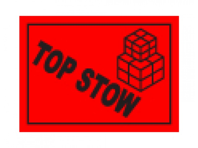 Shipping Labels Top Stow