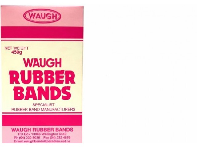 No 64 Rubber Bands (450G Box)