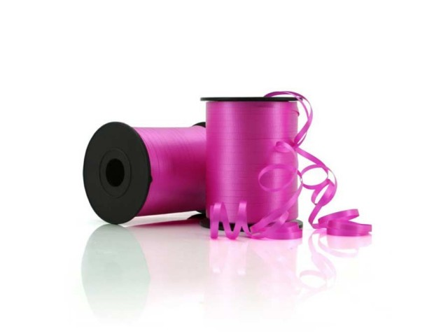 Curling Ribbon Crimped Hot Pink