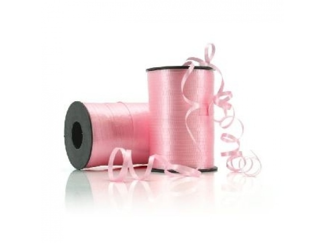Curling Ribbon Crimped Light Pink