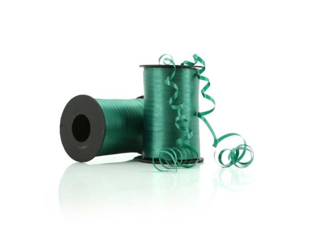 Curling Ribbon Crimped Hunter Green