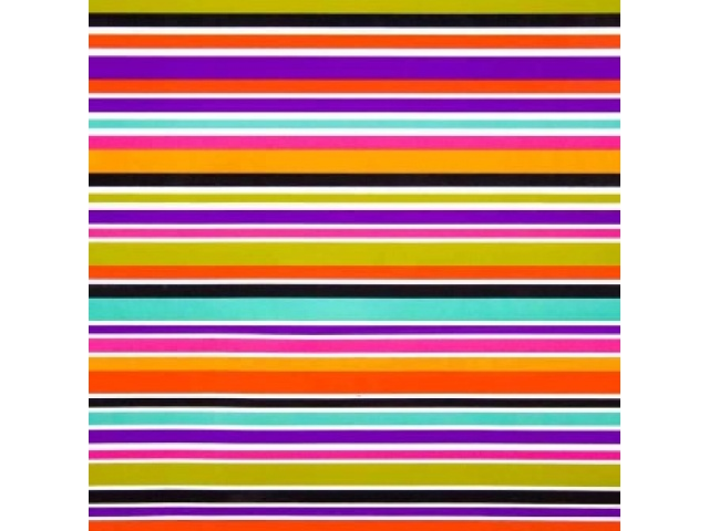 Gift Wrap Multi Stripe