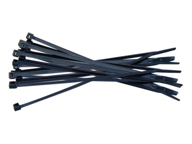 Cable Ties Black 7.6