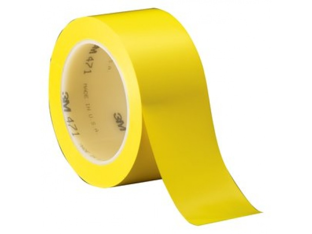 3M 471 Yellow Vinyl Tape
