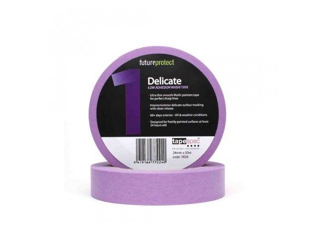 Washi Masking Tape Delicate Surface Purple