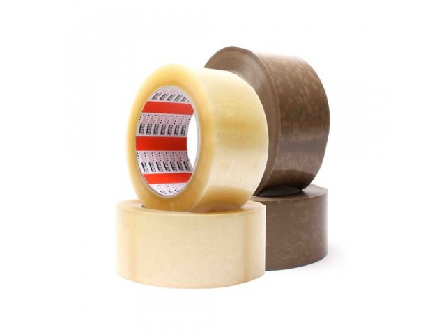 Natural Rubber Adhesive Packing Tape Clear