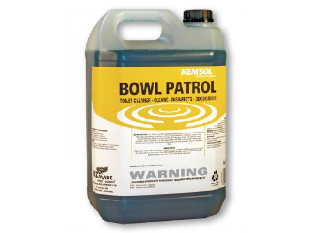 Bowl Patrol Toilet Bowl Cleaner