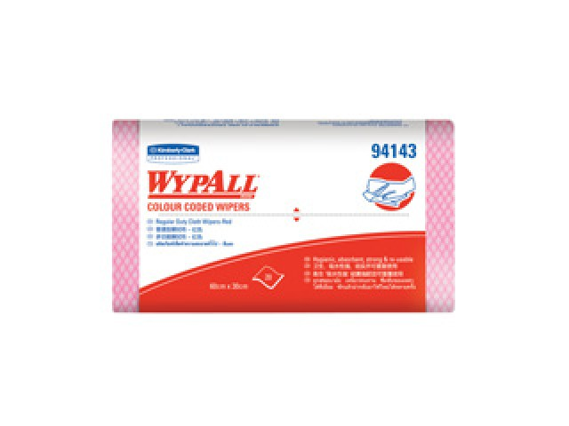 WYPALL  Wipers Red Cut Sheets