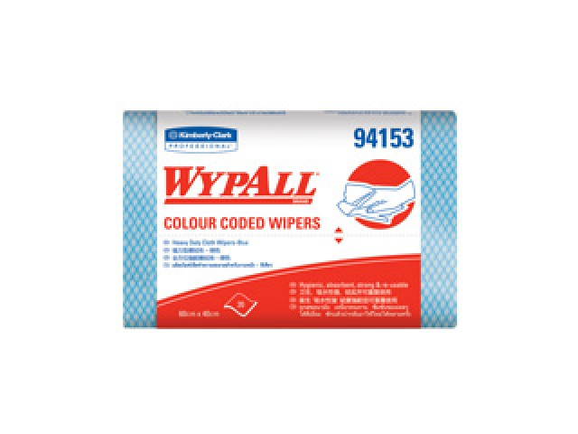 Wypall Wipers HD Blue Cut Sheets