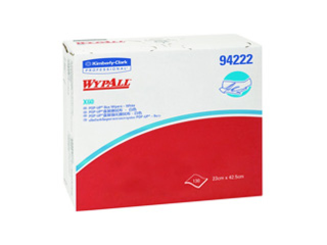 Wipers Wypall X60 Pop Up Wipes