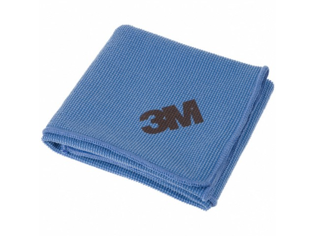 3m Microfibre Blue High Performance Cloth (Pack/10)
