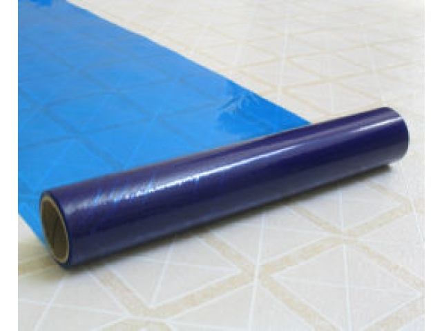 Polywoven Floor and Carpet Cover  Blue Covers