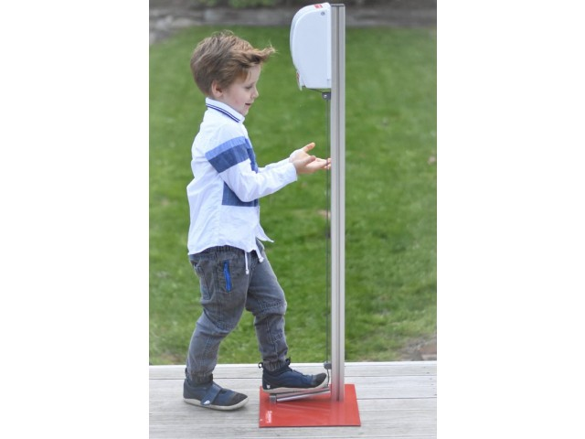 Freestanding 'Hands Free' Sanitiser Dispenser (Fully Assembled)